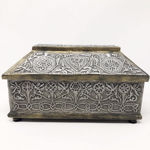 Jewelry Box Gaelic Celtic Star of David Pagan Art